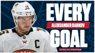 Every Aleksander Barkov Goal From The 2020-21 NHL Season