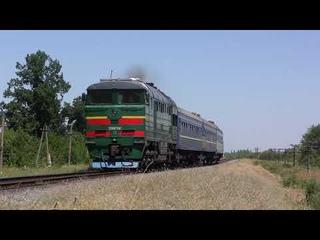 🚆3000 лошадинных сил с 3ми пассажирскими вагонами | 3000 horsepower, 1000 per 1 train car