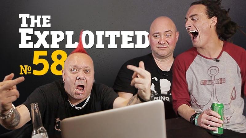 Русские клипы глазами THE EXPLOITED Видеосалон №58 следующий 6 апреля