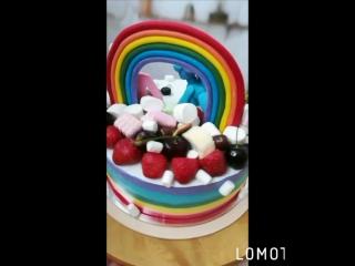 Кремовый торт с пони)