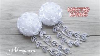 Нарядные Школьные Бантики на 1 СЕНТЯБРЯ /МК КАНЗАШИ / DIY