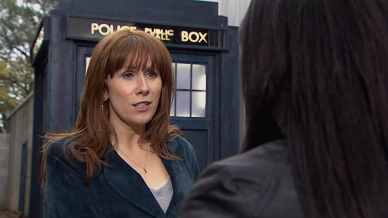 Марта знакомится с Донной План Сонтаранцев Доктор Кто