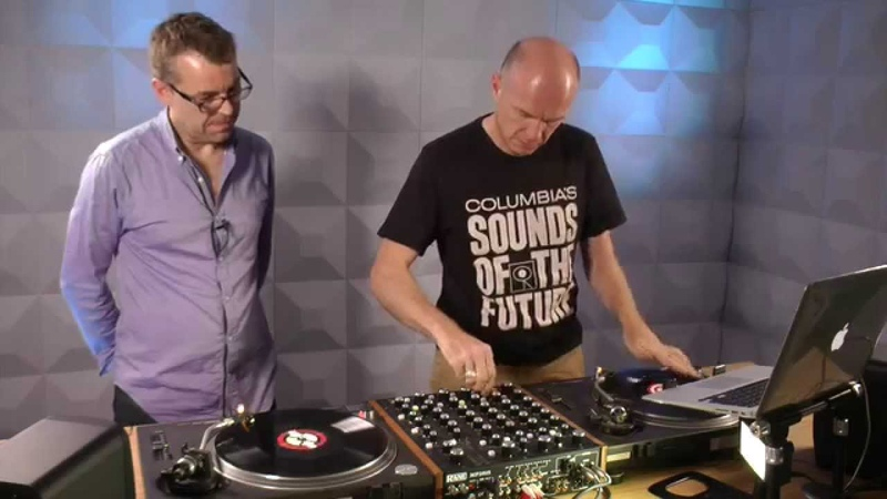 Rane MP2015 Rotary Mixer Review Plus Steve scratching on it