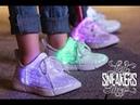 Детские светящиеся кроссовки summer edition от ledsneakersshop