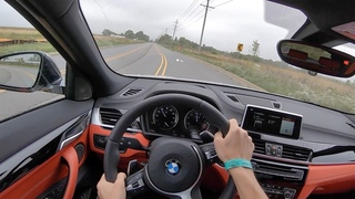 2019 BMW X2 M35i - POV Test Drive (Binaural Audio)