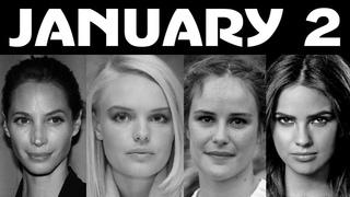 January 2 Famous People BirthDays Celebrities Women