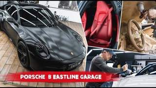 День Porsche в Eastline Garage. Собрали полную колоду - Cayenne Turbo, Macan, Panamera, 911