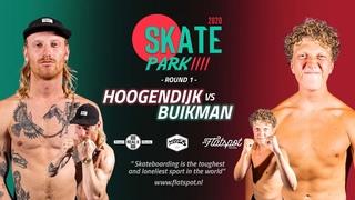 Game of SKATEpark 2020 - Game #14 - Woody Hoogendijk vs Bart Buikman