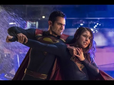Supergirl 2x22 Supergirl VS Superman Fight
