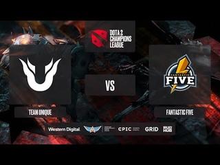 Team Unique vs Fantastic Five, D2CL 2021 Season 2, bo3, game 2 [Mortalles & Adekvat]