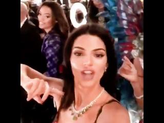 Kendall Jenner Story 091118 Victoria Secret Fashion Show