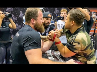 UAL PRO ARM WRESTLING RIGHT + LEFT HAND MATCHES #armwrestling #armsport