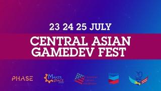 Central Asian Gamedev Fest 2021 - запись 2 дня