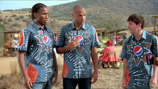 PEPSI FOOTBALL AFRICA 2010 COMMERCIAL FEATURING MESSI KAKA DROGBA LAMPARD HENRY AND AKON