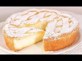 Он Просто Тает во Рту❤️Райский Торт/Пирог с Молочным Кремом/Torta Paradiso