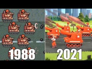 Evolution of Nintendo Wars Games [1988-2021]