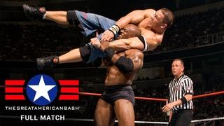 FULL MATCH - John Cena vs. Bobby Lashley – WWE Title Match: WWE Great American Bash 2007