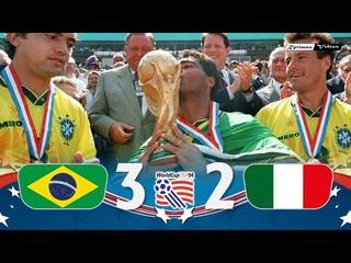 Brasil 0 (3) x (2) 0 Italy ● 1994 World Cup Final Extended Goals & Highlights + Penalties HD