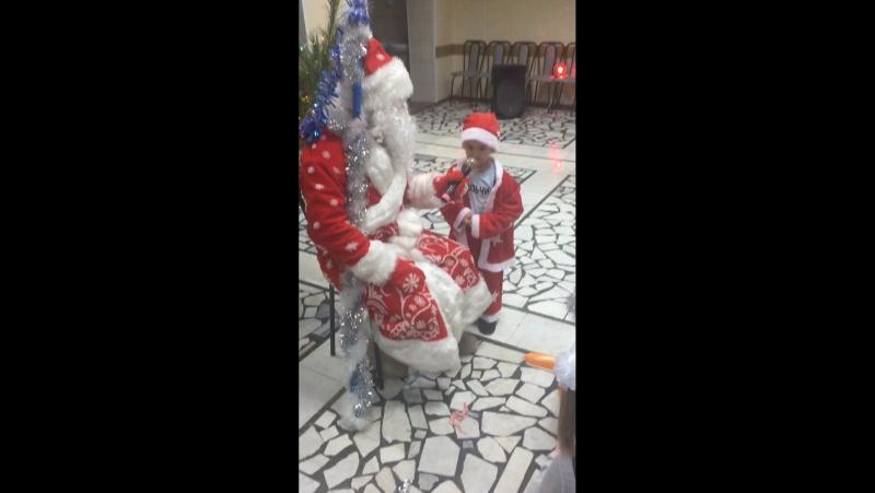 Стишок Деду Морозу про цыплёночка