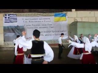 """Belaya Ptitsa"" (Azov Greeks), Manhush, Donetsk Oblast, Ukraine/ ""Белая птица"", хайтарма - 2013"