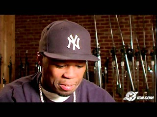 50 Cent: Bulletproof PlayStation 2 Interview - 50 Cent
