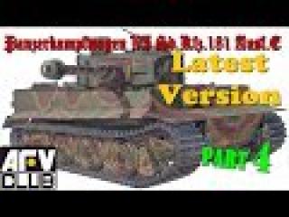 Постройка/building Tiger I AFV Club AF 35079 ч.4
