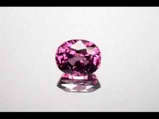 5,88кт Природная Шпинель Бирма  11,10x9,20мм МГУ  5,5т $ Unheated Pink Spinel Burmese-Mogok