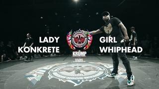 Lady Konkrete vs Girl Whiphead   Female Top 18   EBS World Final 2019