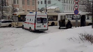 ДТП в центре Томска