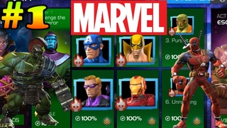 Marvel All BOSSES Final Deadpool - Act 1 Chapter 1 Marvel Contest of Champions
