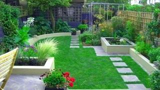 Charming Garden Small Landscape Design Ideas   Backyard Garden Landscaping