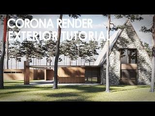 Corona 3ds Max Exterior Rendering Workflow
