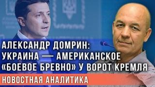 Александр Домрин: Украина —американское «боевое бревно» у ворот Кремля