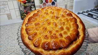 У мамы научилась печь такие пироги. #лучшийрецепт