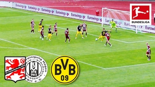 12 (!) Goals - Dortmund Youngsters Celebrate Goalfest in Charity Match   Highlights