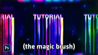 The Magic Brush ( Photoshop ) #Mishko Technique
