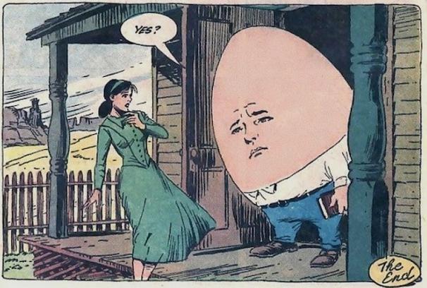 Шалтай-Болтай — это не яйцо, а пушка.