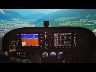 Видео от  - Авиатренажер Cessna 172 в Москве