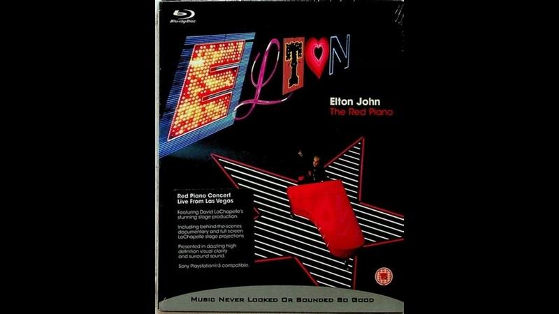 Elton John The Red Piano Las Vegas