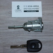 Сердцевина водительской двери с ключом. VW