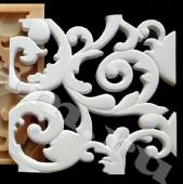 3D ПАНЕЛЬ арт.S1(ПРОРЕЗНОЙ ВЕНЗЕЛЬ) форма полиуретановая