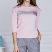 Блузка с кармашком (50,52,54)