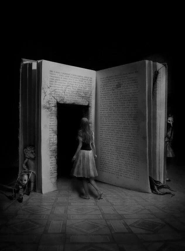 Человек является книгой, соавтором книги, читателем этой книги и главным героем этой книги. С ума сойти.