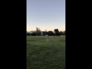 Личное видео из инстаграм-истории Спенсера (23/09/18)