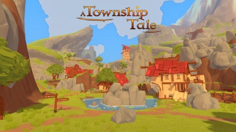 Oculus Quest A Township Tale Онлайн ролевая игра VR GAMECLUB Хабаровск