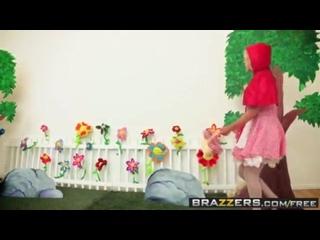 Brazzers - большие мокрые жопы - Krissy Lynn и Bruce Venture - Little Red Ride 18+.