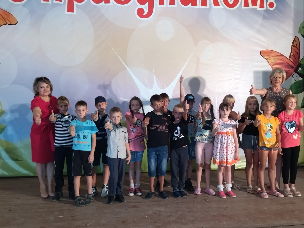 Петровским ребятам вручили наборы школьных принадлежностей, собранные ко Дню знаний