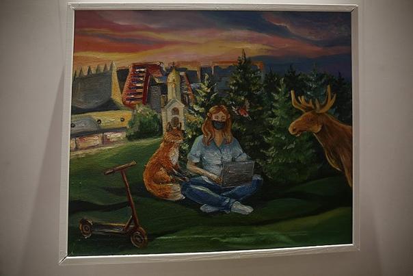 Выставка «Великолепная изоляция» проходит в Новоси...