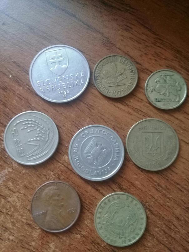 Монеты разных стран и достоинством.есть | Объявления Орска и Новотроицка №27986