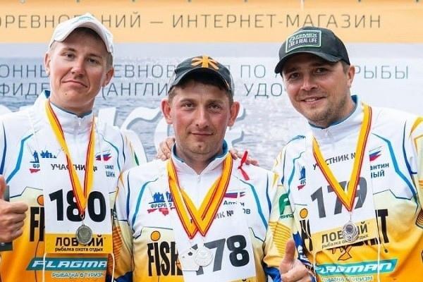 Рыболовы-спортсмены из Марий Эл приняли участие в чемпионате «Волжское серебро»